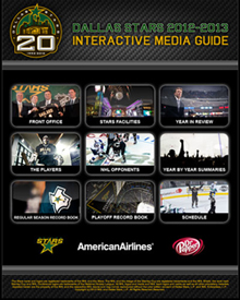 Dallas Stars Interactive Media Guide